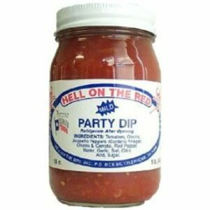 Hell On The Red! Legendary Texas Mild Party Dip Salsa
