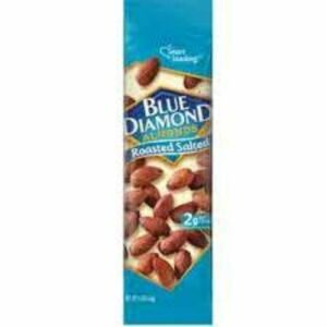 Blue Diamond Roasted Salted Almonds In Tubes
