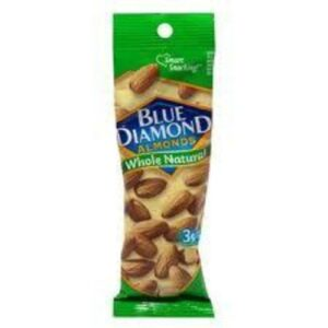 Blue Diamond Whole Natural Almonds In Tube