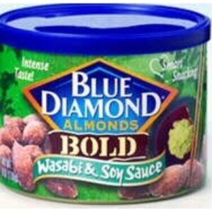 Blue Diamond Wasabi & Soy Sauce Bold Almonds