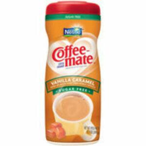 Coffee Mate Powder Creamer Vanilla Caramel Sugarfree