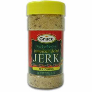 Grace Jamaican Dry Jerk Rub Seasoning