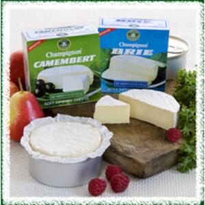 Champignon Cheese Camembert Tins