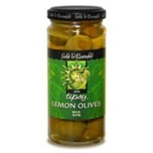 Sable & Rosenfeld Tipsy Olives • Gin Lemon