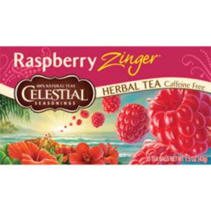 Celestial Seasonings Raspberry Zing Herbal Tea Bags