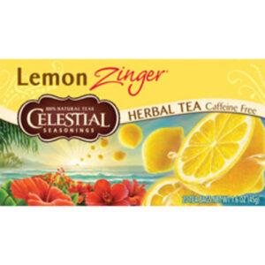 Celestial Seasonings Lemon Zinger Herbal Tea Bags