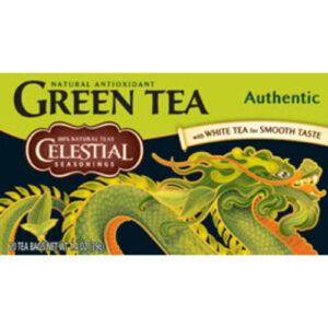 Celestial Seasonings Green Authentic Herbal Tea Bags