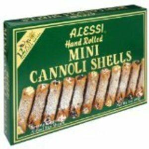 Alessi Hand Rolled Mini Cannoli Shells