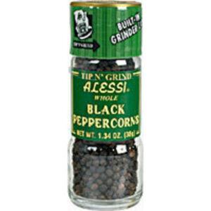 Alessi Black Peppercorn Spice Grinder