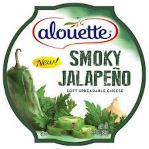 Alouette Smokey Jalapeno Soft Spreadable Cheese Cup