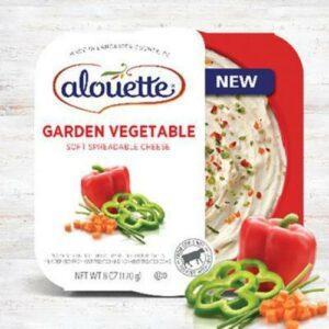 Alouette Garden Vegetable Spreadable Cheese Cup