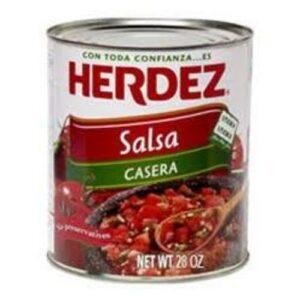 Herdez Hot Casera Salsa