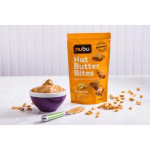 Nubu Nut Butter Peanut Bites Crunchy Snacks
