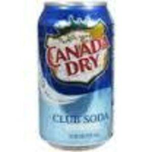 Canada Dry Club Soda • 12 Oz Can