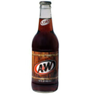 A & W Soda Root Beer