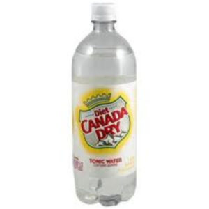 Canada Dry Tonic Water • Diet 1 Liter