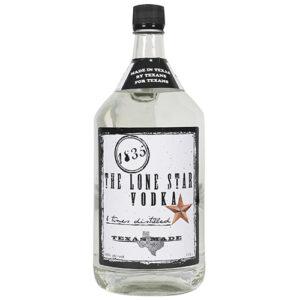 The Lone Star 1835 Texas Vodka