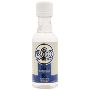 360 Vodka • 50ml (Each)