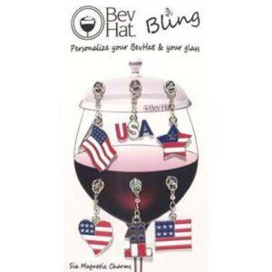 Bev Hat Bling • Patriot Collection