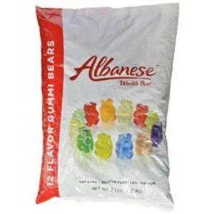 Albanese Fat-free Assorted Flavors Gummi Bears