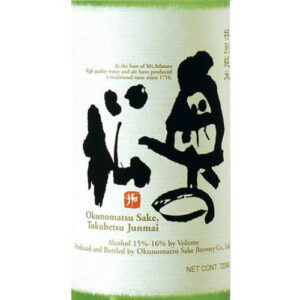 Okunomatsu Tokubetsu Junmai Sake 6 / Case
