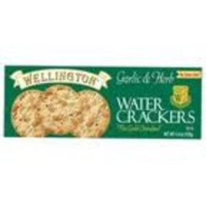 Wellington Garlic & Herb Water Crackers