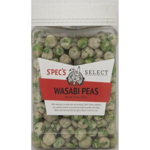 Spec's Select Snacks • Wasabi Peas