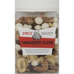 Spec's Select Snacks • Cinnaberry
