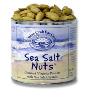 Blue Crab Bay Virginia Peanuts With Sea Salt Crystals