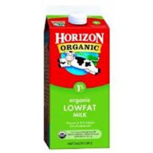 Horizon Organic Milk • Low Fat 1 %