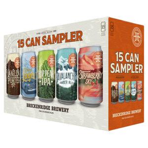 Breckenridge Sampler Pack • 15pk Can