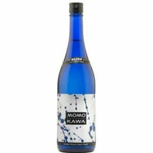 """Momokawa """"silver"""" Junmai Ginjo Sake"""
