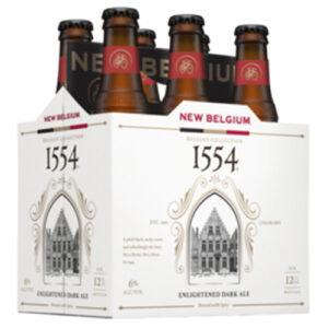 New Belgium 1554 Black Ale • 6pk NRB