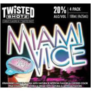 Twisted Shotz • Miami Vice 4pk-25ml
