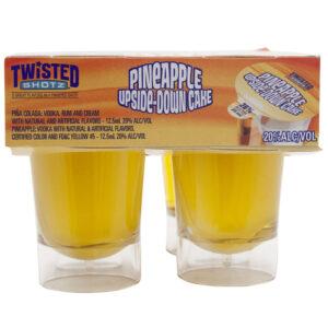 Twisted Shotz • Pineapple Upside Down Cake 4pk-25ml