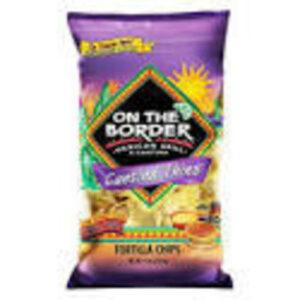On The Border Tortilla Chips • Cantina Thins