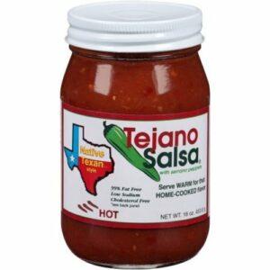Tejano Red Hot Native Texan Salsa