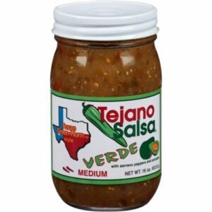 """Tejano """"texas Greenhorn"""" Verde Salsa"""