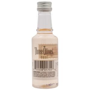 Three Olives Vodka • Rose 50ml (Each)
