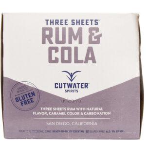 Cutwater Cocktails • Rum & Cola 4pk-12oz