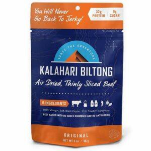 Kalahari Air Dried Thinly Sliced Orginal Flavor Beef