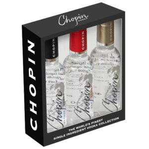 Chopin Vodka • Mini Collection 3pk-50ml