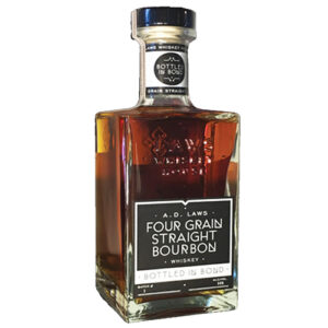 A.d. Laws Four Grain Bottled In Bond Straight Bourbon Whiskey