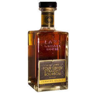 A.d. Laws Four Grain Farmer's Select Straight Bourbon Whiskey