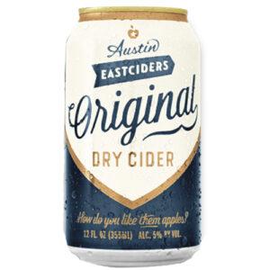 Austin Eastciders Original Cider • 12pk Can