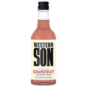 Western Son Vodka • Red Grapefruit 50ml (Each)