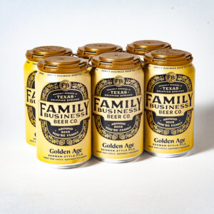 Family Business Golden Age Pilsner • Cans
