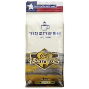 Tx State Of Mind Coffee • Yellow Rose Ground Light