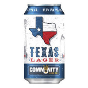 Community Beer Texas Lager • 19.2oz Can