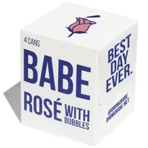 Babe Rose Bubbles 4pk